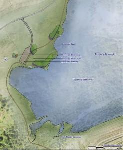 Post-Reallocation Map of Plum Creek