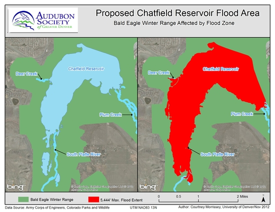 Asgd maps for Chatfield reservoir fishing